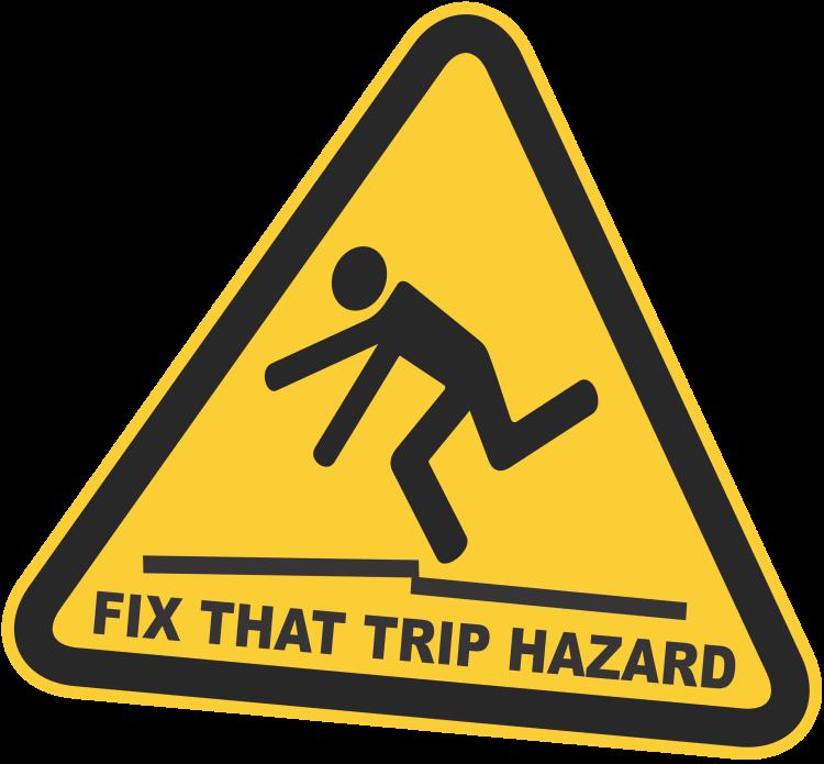 Tripping Hazards | Foam Tech