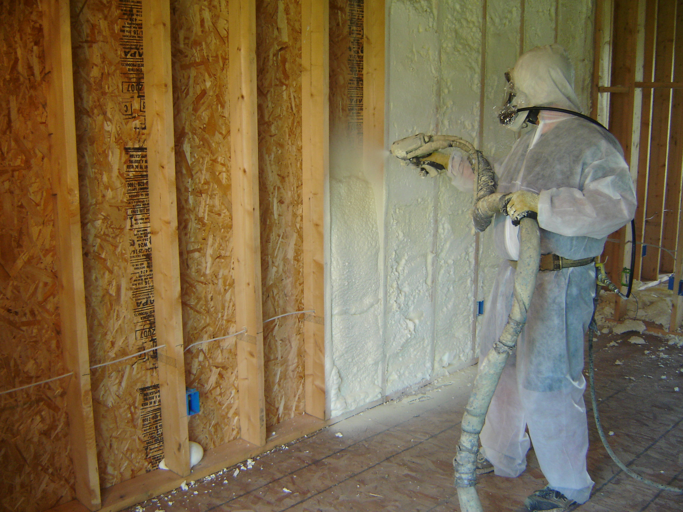 Compairing insulation foam tech for Types of insulation for basement